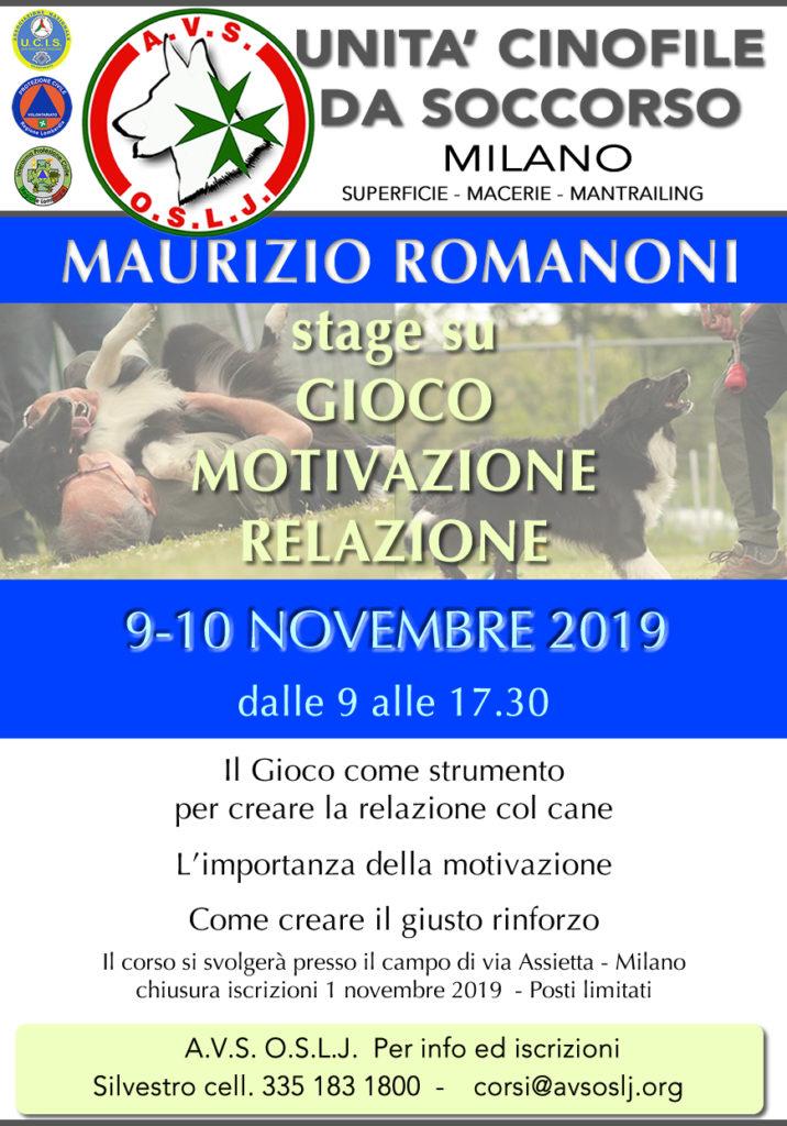 stage Maurizio Romanoni